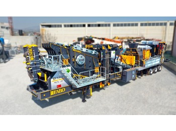 FABO MCK-60 MOBILE CRUSHING & SCREENING PLANT FOR HARDSTONE - мобильная дробилка