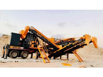 FABO MDMK-03 SERIES 300 TPH MOBILE CRUSHING & SCREENING PLANT - мобильная дробилка