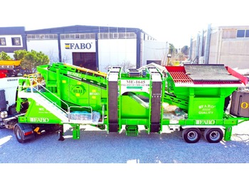 FABO ME 1645 SERIES MOBILE SAND SCREENING PLANT - мобильная дробилка