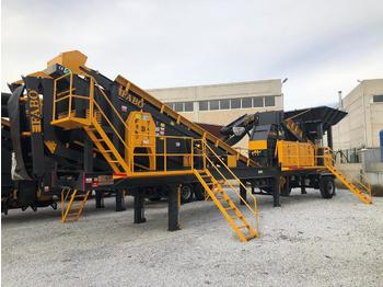 FABO MTK-65 MOBILE CRUSHING & SCREENING PLANT – SAND MACHINE - мобильная дробилка