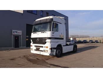 Mercedes-Benz Actros 1843 1843 Mega SPace (BIG AXLE / EPS-GEARBOX / WITH CLUTCH / EURO 2) - тягач